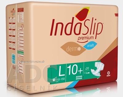 IndaSlip Premium L 10 Plus plienkové nohavičky,dermo, airsoft, obvod 110-150 cm, 1x20 ks