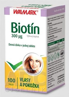 WALMARK Biotín 300 µg tbl 1x100 ks