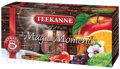 TEEKANNE WOF MAGIC MOMENTS ovocno-bylinný čaj 20x2,5 g (50 g)