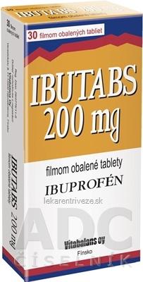 IBUTABS 200 mg tbl flm (blis.PVC/Al) 1x30 ks