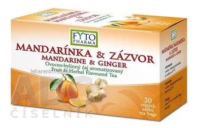 FYTO MANDARÍNKA & ZÁZVOR ovocno-bylinný čaj 20x2 g (40 g)