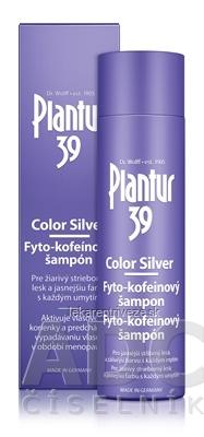 Plantur 39 Color Silver Fyto-kofeínový šampón 1x250 ml