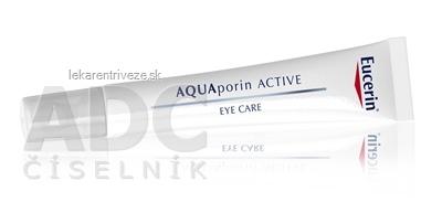 Eucerin AQUAporin ACTIVE Očný krém (inov.2015) 1x15 ml