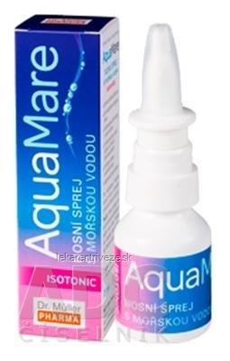 Dr. Müller AquaMare ISOTONIC nosný sprej s morskou vodou 1x20 ml