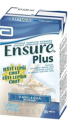 Ensure Plus vanilková príchuť 1x220 ml