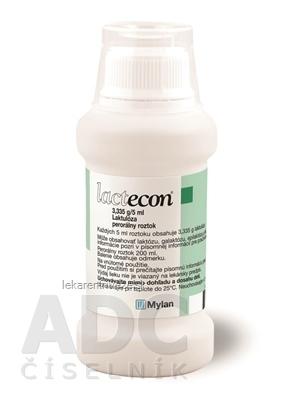 Lactecon sol por (fľ.HDPE) 1x200 ml