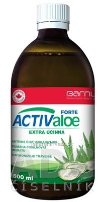 BARNYS ACTIValoe FORTE 1x500 ml