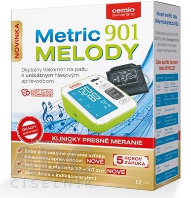 e278505de606d Cemio Metric 901 Melody Tlakomer digitálny, na rameno (s hlasovým  sprievodcom) 1x1 ks