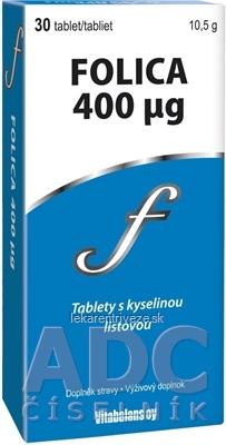 Vitabalans FOLICA 400 µg tbl 1x30 ks