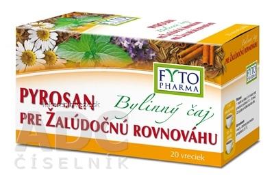 FYTO Bylinný čaj PYROSAN pre žalúdočnú rovnováhu porciovaný 20x1,5 g (30 g)