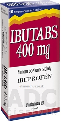 IBUTABS 400 mg tbl flm (blis.PVC/Al) 1x10 ks