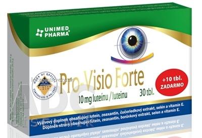 Pro-Visio Forte tbl 30 + 10 zadarmo (40 ks)