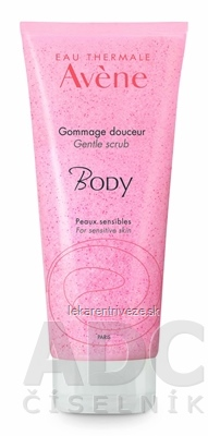 AVENE BODY GOMMAGE DOUCEUR jemný telový peeling pre všetky typy citlivej pleti 1x200 ml