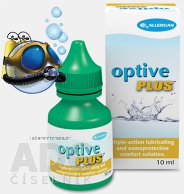 Optive Plus očný roztok 1x10 ml