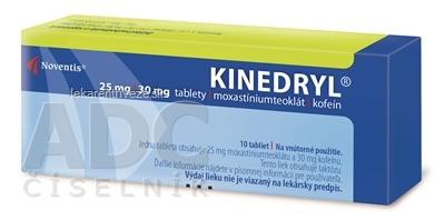 KINEDRYL tbl 25 mg/30 mg (blis.PVC/Al) 1x10 ks