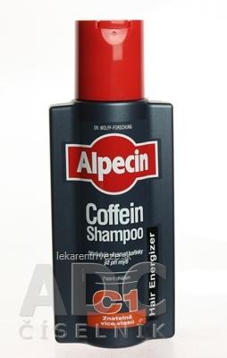 ALPECIN Hair Energizer Coffein Shampoo C1 kofeínový šampón proti vypadavaniu vlasov 1x250 ml