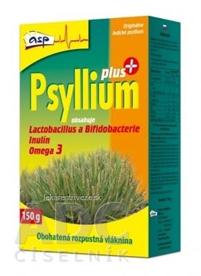asp Psyllium PLUS rozpustná vláknina, s laktobacilmi a bifidobaktériami, 1x150 g
