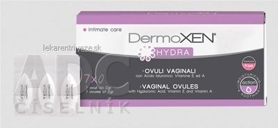 DermoXEN HYDRA vaginálne globule 1x7 ks