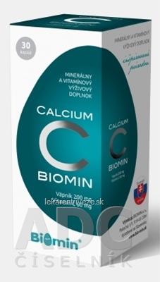 BIOMIN CALCIUM S VITAMÍNOM C cps 1x30 ks