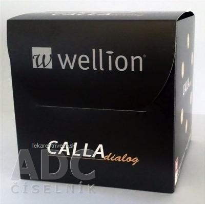 Wellion CALLA Dialog - Glukometer so zvukovým oznamovaním nameraných hodnôt, 1x1 set