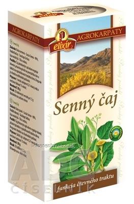 AGROKARPATY SENNY ČAJ čistý prírodný produkt, 20x1,5 g (30 g)