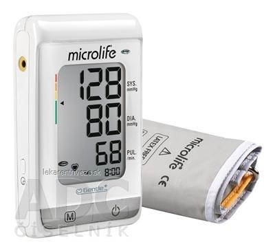 MICROLIFE TLAKOMER DIGITÁLNY BP A150 AFIB automatický na rameno (pamäť na 30 nameraných hodnôt) + adaptér, 1x1 set