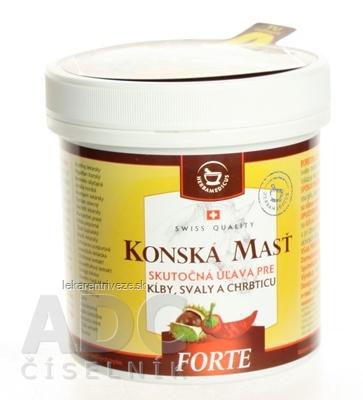 KONSKÁ MASŤ FORTE HREJIVÁ 1x250 ml