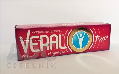 VERAL 1 % GÉL gel (tuba lamin.) 1x100 g