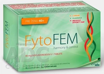 FytoFEM harmony & control tbl ( pre ženu 40+) 1x30 ks