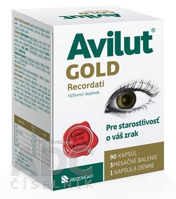 AVILUT Gold Recordati cps 1x90 ks