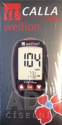 Wellion CALLA Mini - Glukometer 1x1 set