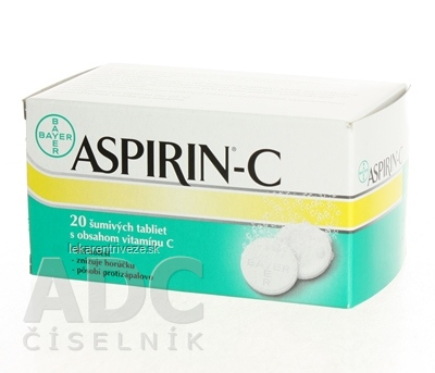 ASPIRIN-C tbl eff 1x20 ks