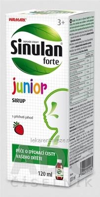 WALMARK Sinulan forte junior sirup 1x120 ml