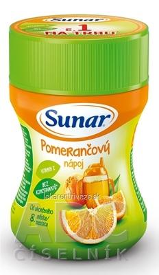 Sunar Rozpustný nápoj Pomarančový v prášku (od ukonč. 8. mesiaca) 1x200 g