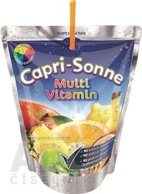 Capri-Sonne Multivitamín pasterizovaný ovocný nápoj 1x200 ml