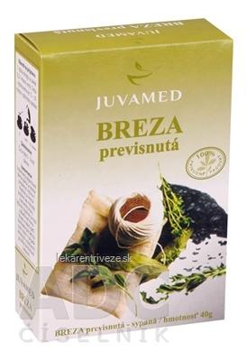 JUVAMED BREZA PREVISNUTÁ - LIST bylinný čaj sypaný 1x40 g
