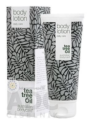 ABC Tea Tree Oil BODY LOTION - Telové mlieko upokojujúce, (inov. obal 2018) 1x200 ml
