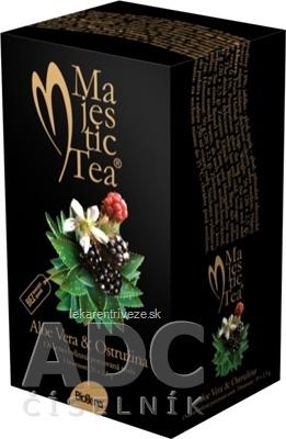 Biogena Majestic Tea Aloe Vera & Ostružina ovocno-bylinná zmes 20x2,5 g (50 g)