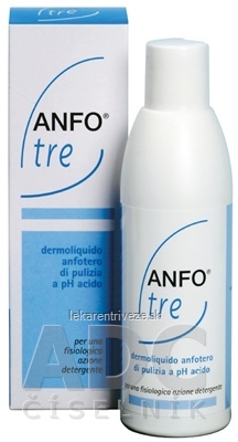 ANFO TRE tekuté mydlo s kyslým pH3,5 1x200 ml