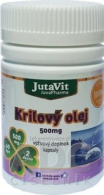 JutaVit Krilový olej 500 mg cps 1x60 ks
