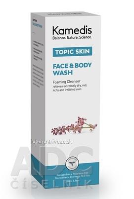 KAMEDIS TOPIC SKIN FACE & BODY WASH umývací gél na tvár a telo 1x200 ml