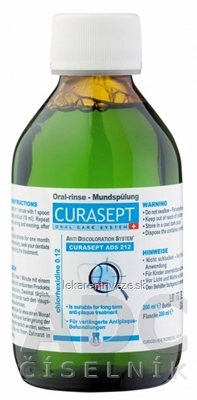 CURASEPT ADS 212 0,12% ústna voda 1x200 ml