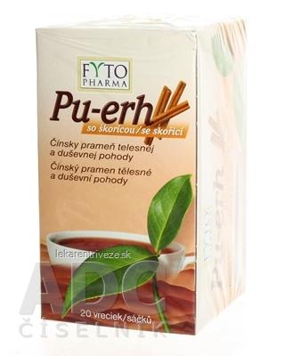 FYTO Pu-erh so škoricou 20x1,5 g (30 g)