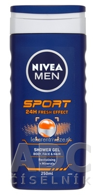 NIVEA MEN SPRCHOVÝ GÉL SPORT 1x250 ml