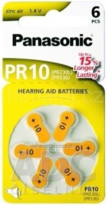 Panasonic PR10 (PR230L) (PR536) batérie do načúvacích prístrojov 1x6 ks