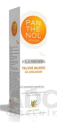 omega PANTHENOL 9% RAKYTNÍK telové mlieko po opaľovaní 1x250 ml