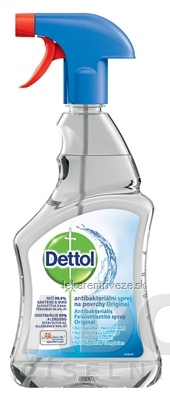 Dettol antibakteriálny sprej na povrchy Originál 1x500 ml