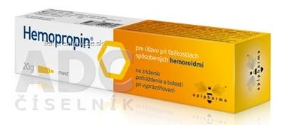 Hemopropin masť 1x20 g