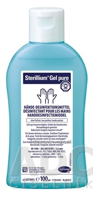 BODE Sterillium gel pure 1x100 ml