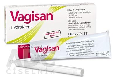 Vagisan HydroKrém s vaginálnym aplikátorom 1x50 g